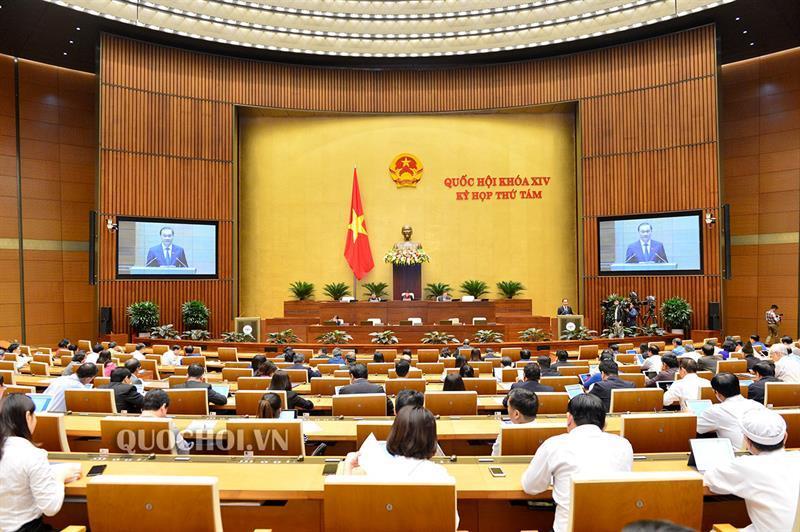 Ngày làm việc thứ 16 kỳ họp thứ 8 Quốc hội khóa XIV
