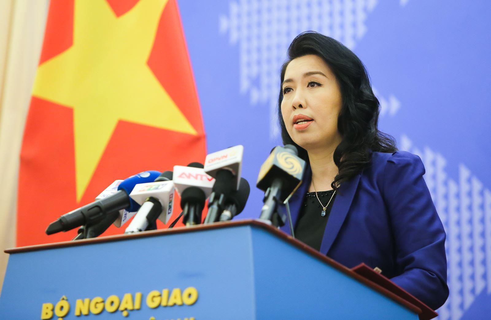 Bác bỏ phát biểu liên quan đến Việt Nam của Bộ Ngoại giao Trung Quốc
