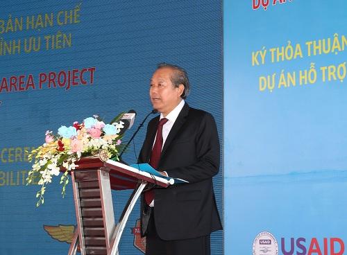 Lễ động thổ dự án xử lý dioxin tại sân bay Biên Hòa