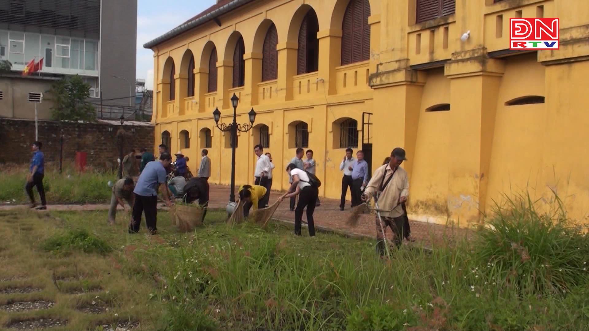 Biên Hòa: Ra quân ngày thứ 7 xanh sạch đẹp tại các di tích lịch sử văn hóa