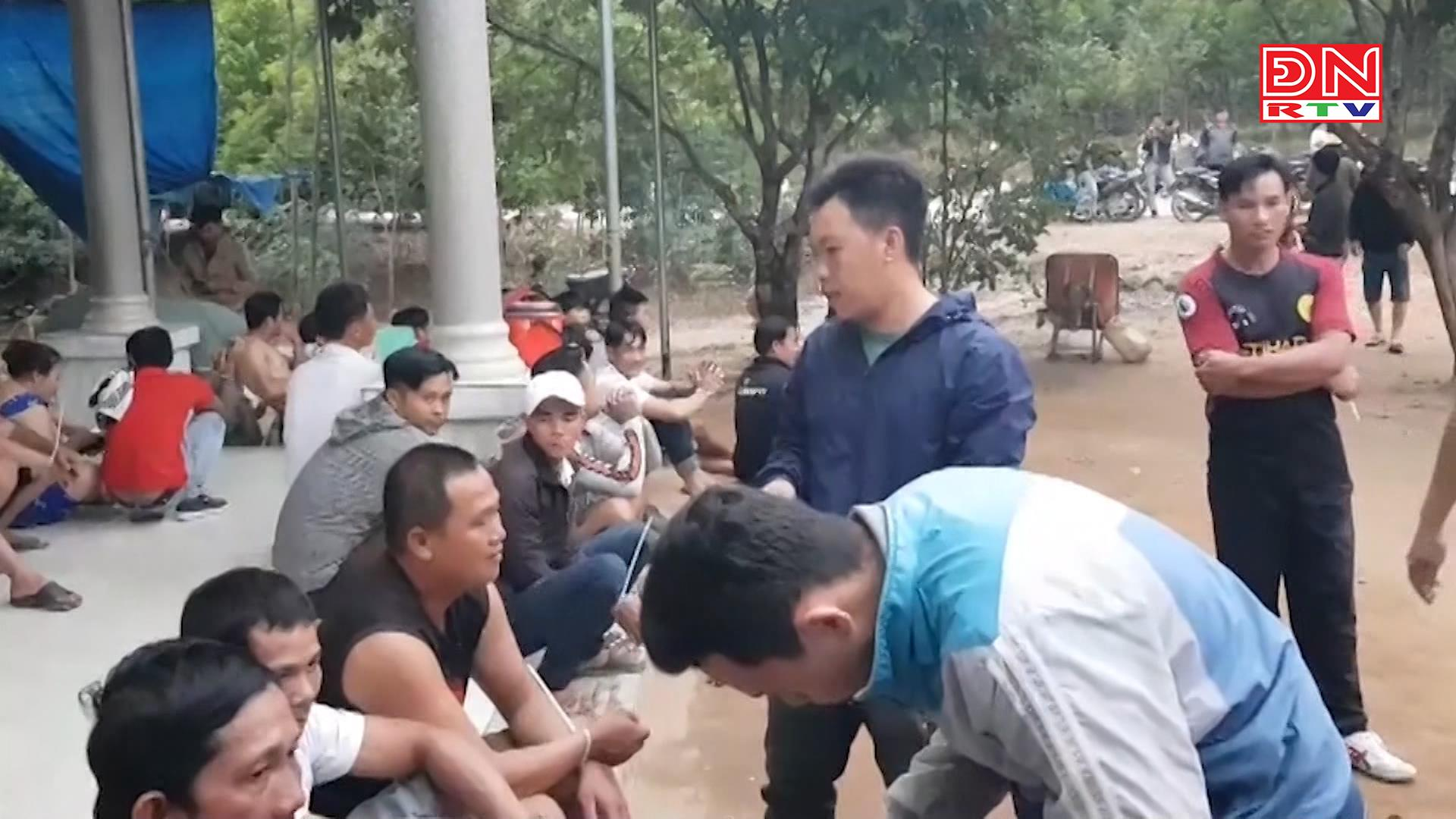 Tân Phú:  Bắt 15 đối tượng đá gà ăn tiền