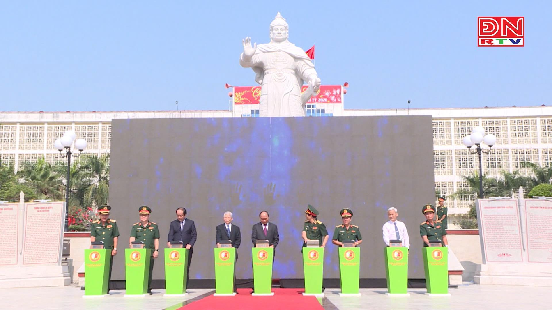 Thủ tướng bấm nút khánh thành tượng đài Hoàng đế Quang Trung – Nguyễn Huệ tại Đồng Nai