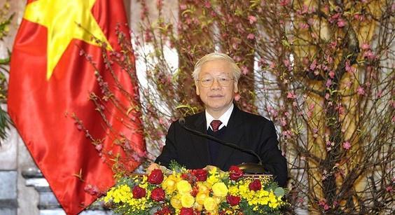 Tổng Bí thư, Chủ tịch nước chúc Tết lãnh đạo, nguyên lãnh đạo Đảng, Nhà nước