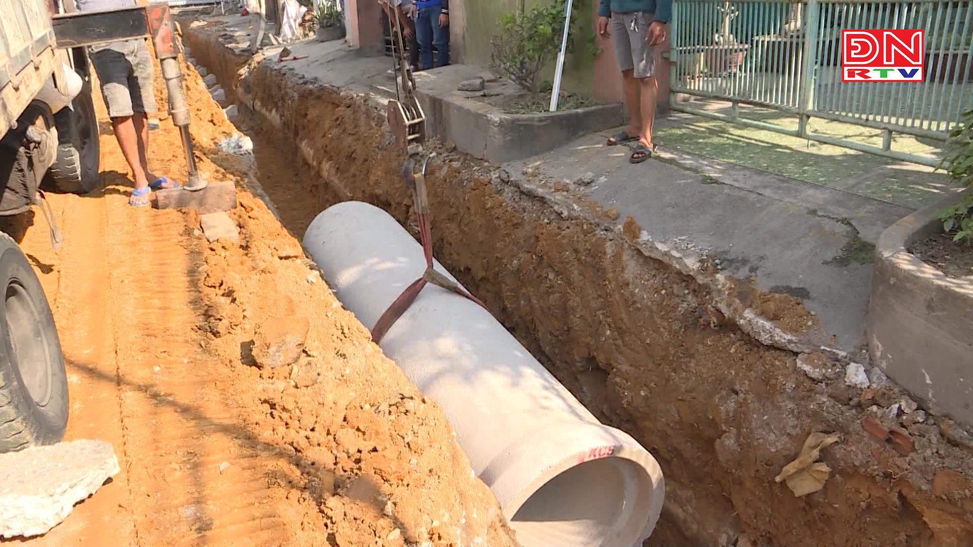Cải tạo, sửa chữa đường lên dốc Đinh Thuận, phường Tân Hiệp, TP. Biên Hòa