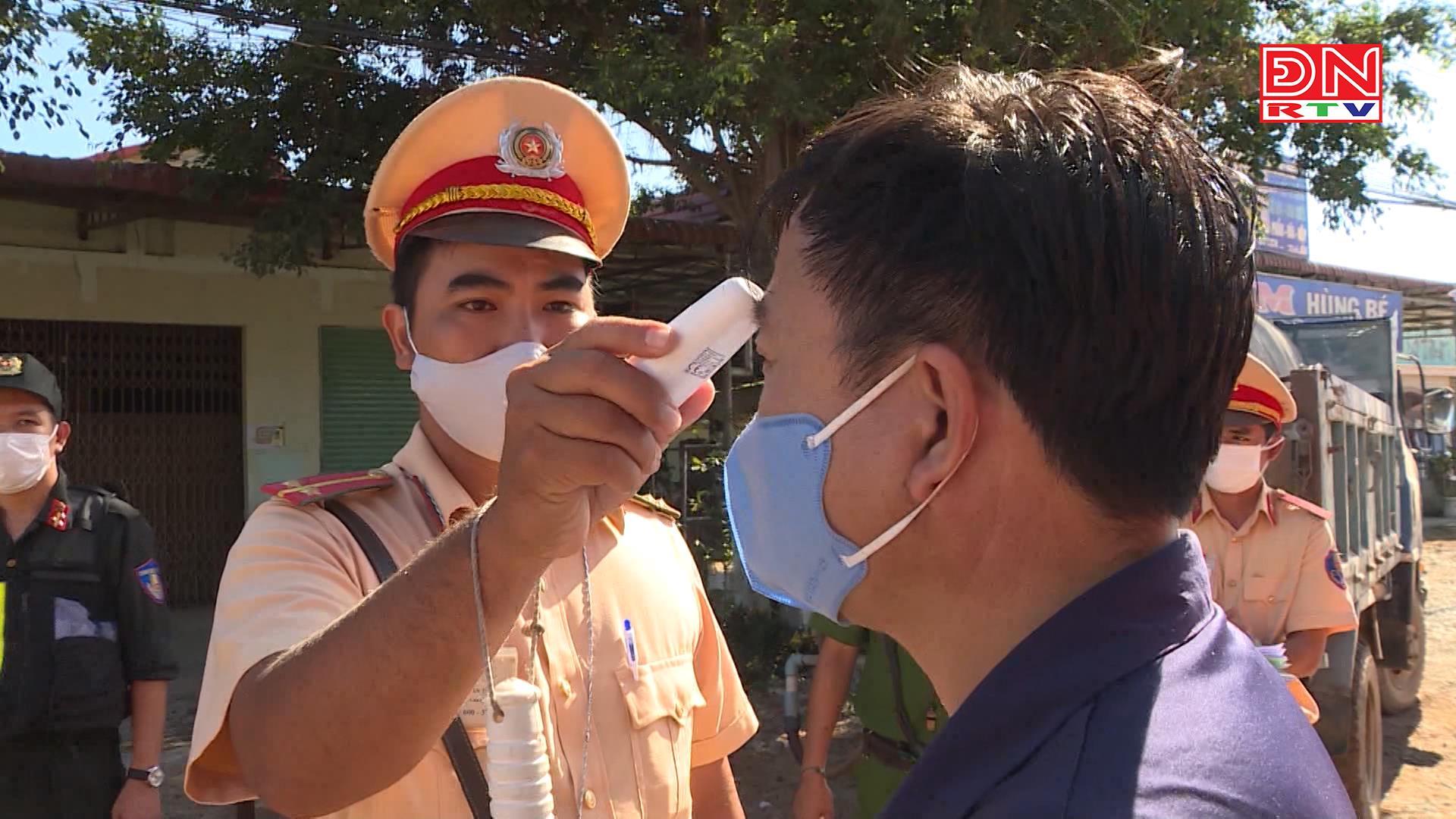 Kiểm tra chặt chẽ phương tiện từ miền trung, miền bắc vào Đồng Nai
