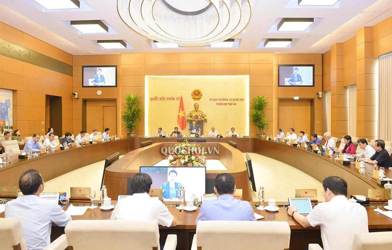 Khai mạc Phiên họp thứ 46 Ủy ban Thường vụ Quốc hội