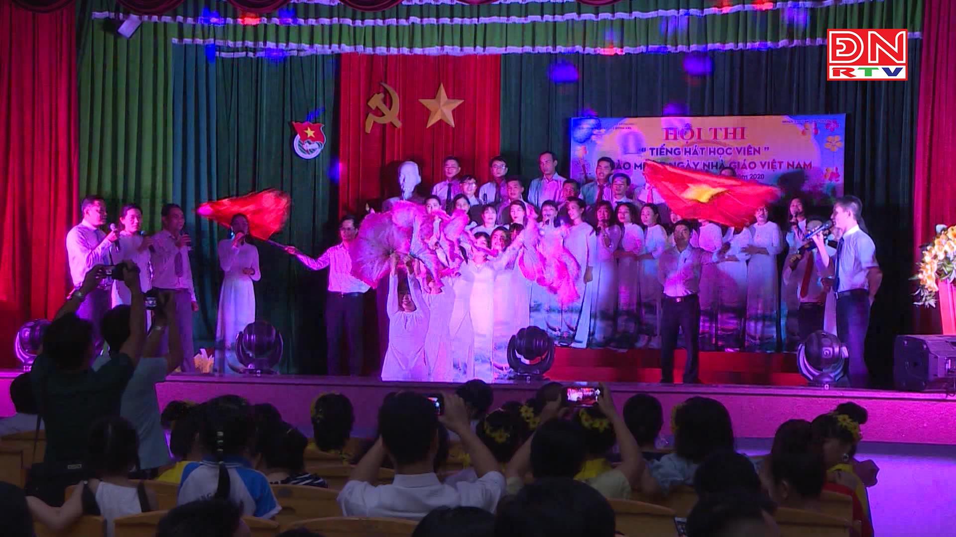 Hội thi văn nghệ tại Trường Chính trị Đồng Nai