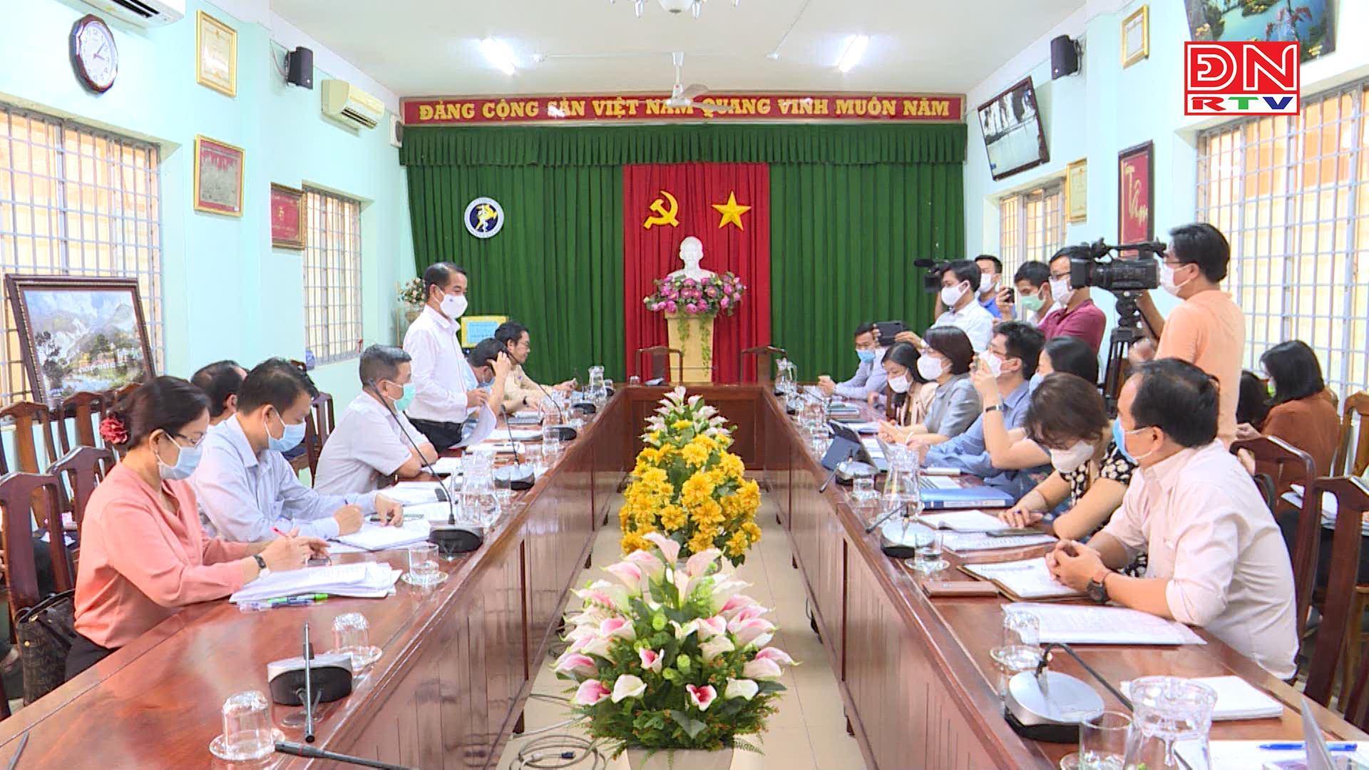 Bộ Y tế kiểm tra công tác phòng chống dịch Covid-19 tại Đồng Nai