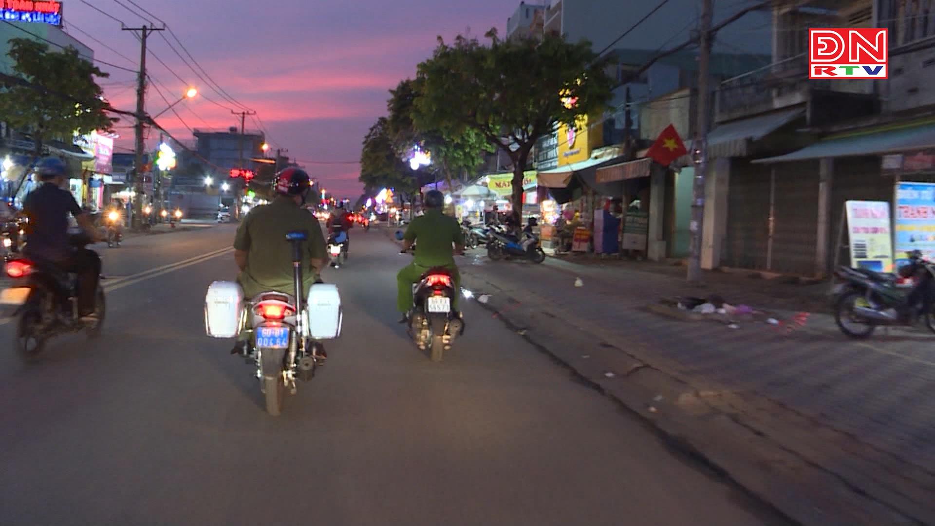Diện mạo mới về an ninh trật tự ở Long Thành